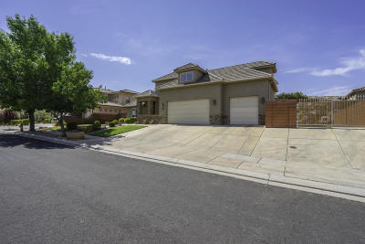 St George Single Family Home For Sale: 622 Bear Claw Dr