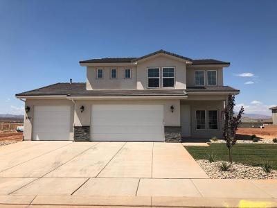 St George Single Family Home For Sale: 3351 E Dara Dr