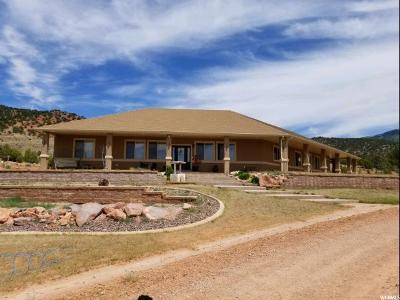 Washington County Single Family Home For Sale: 4435 S Old Hwy #91