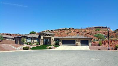 St George Single Family Home For Sale: 2029 E 1000 N Cir