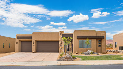 St George Single Family Home For Sale: 5293 N North Gate Peaks Dr