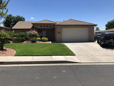 St George Single Family Home For Sale: 2011 W 1940 N