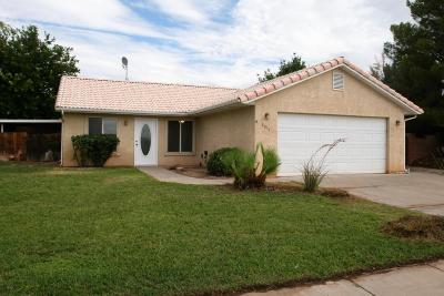 St George Single Family Home For Sale: 2811 E Paradise Way
