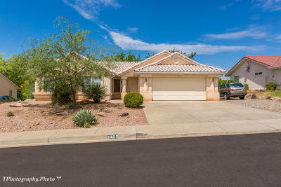 St George UT Single Family Home For Sale: $235,000