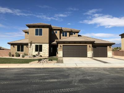 St George UT Single Family Home For Sale: $465,900