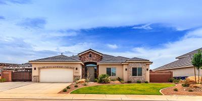 St George UT Single Family Home For Sale: $359,000