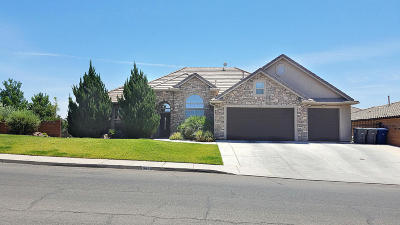 St George UT Single Family Home For Sale: $399,897