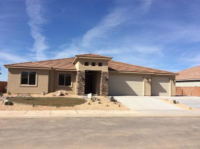 Hurricane Single Family Home For Sale: 221 N 2720 W