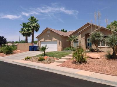St George Single Family Home For Sale: 2345 E 630 N