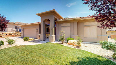 St George Single Family Home For Sale: 3031 S Ledge Rock