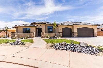 Ivins Single Family Home For Sale: 33 S 375 W