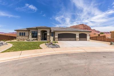 Ivins Single Family Home For Sale: 18 S 375 W