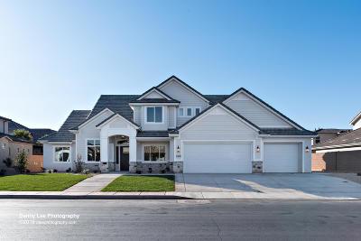 St George Single Family Home For Sale: 2308 E Crimson Ridge Dr