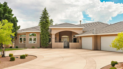 St George UT Single Family Home For Sale: $509,900