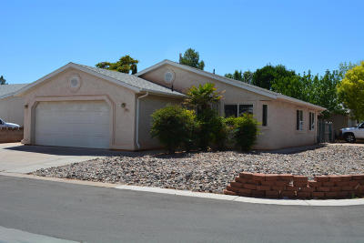 Ivins Single Family Home For Sale: 556 S 75 E