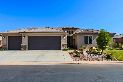 Ivins Single Family Home For Sale: 29 E 640 S