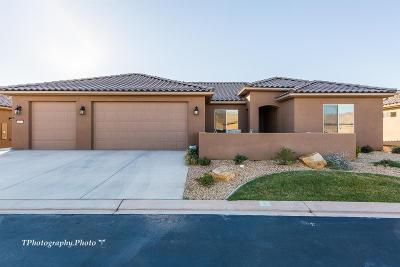 Ivins, Santa Clara, St George, Washington Single Family Home For Sale: 1437 W Wild Sage