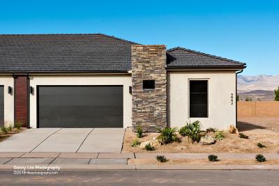 Ivins, Santa Clara, St George, Washington Single Family Home For Sale: 4842 S Martin Dr