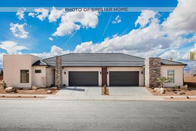 Ivins, Santa Clara, St George, Washington Single Family Home For Sale: 4849 S Martin Dr