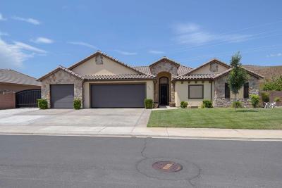 Hurricane Single Family Home For Sale: 849 N 300 W