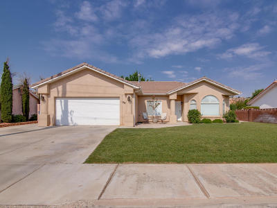 St George Single Family Home For Sale: 98 S 2000 E