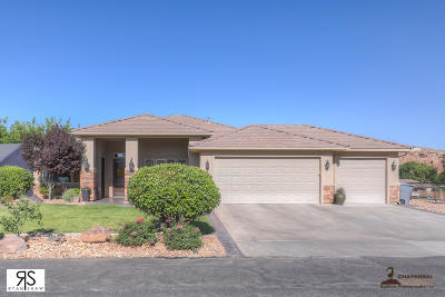 St George Single Family Home For Sale: 2914 Ebony Cir