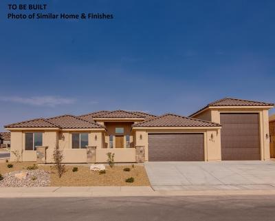 St George Single Family Home For Sale: Lot 30 Sidewinder Ln
