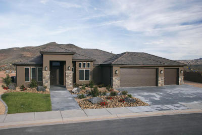 St George Single Family Home For Sale: 3470 E Chimney Rock Dr