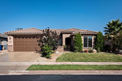 St George Single Family Home For Sale: 4972 Grapevine Dr