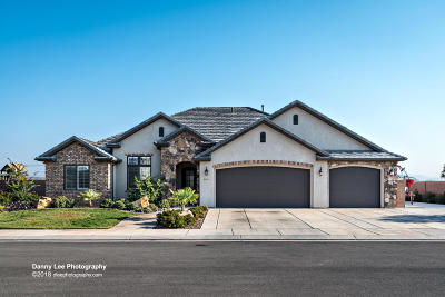 St George Single Family Home For Sale: 3161 E 2805 S