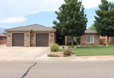 Hurricane Single Family Home For Sale: 3424 W 250 N