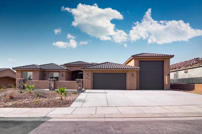 St George Single Family Home For Sale: 3339 E Sidewinder Ln
