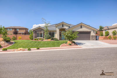 St George UT Single Family Home For Sale: $280,000