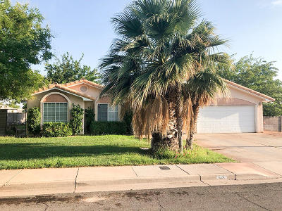 St George UT Single Family Home For Sale: $270,000