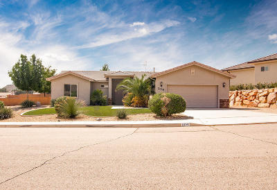 St George UT Single Family Home For Sale: $315,000