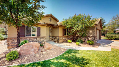 Ivins Single Family Home For Sale: 337 W 225