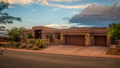 St George UT Single Family Home For Sale: $857,900