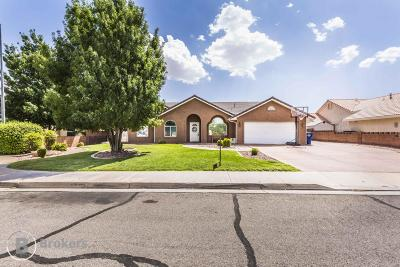 St George UT Single Family Home For Sale: $279,990