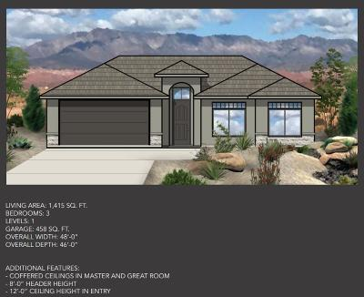 Hurricane Single Family Home For Sale: 2608 W 400 N