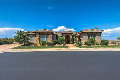 St George Single Family Home For Sale: 2067 Stone Canyon Dr