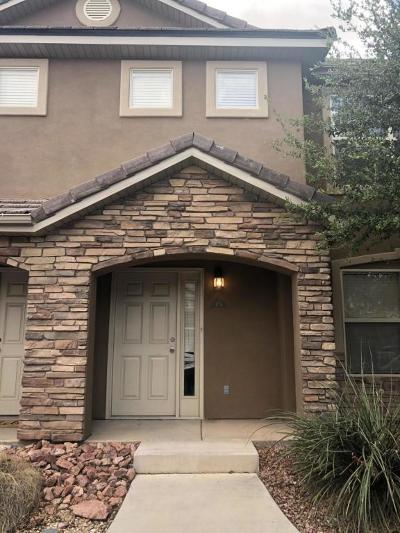 St George Condo/Townhouse For Sale: 3155 S Hidden Valley #171