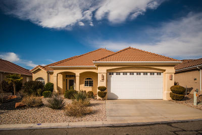 Hurricane Single Family Home For Sale: 2588 W Sky Mountain Ct