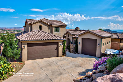 St George Single Family Home For Sale: 1489 S 2670 E