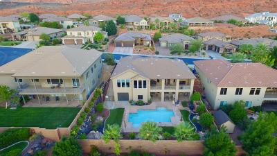 St George UT Single Family Home For Sale: $649,000