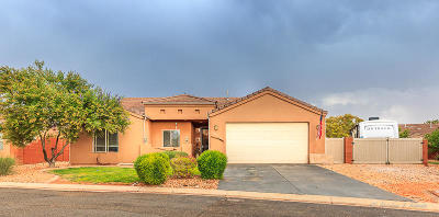 Ivins Single Family Home For Sale: 551 S 675 E