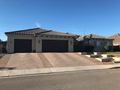 St George Single Family Home For Sale: 1145 W 2400 S