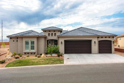 St George UT Single Family Home For Sale: $479,900
