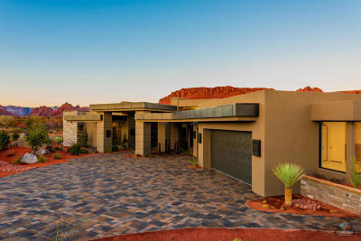St George Single Family Home For Sale: 16 Cougar Rock Cir #Lot 16