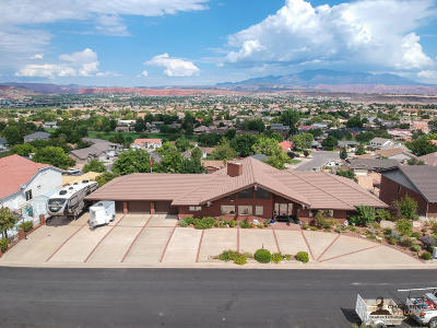 St George Single Family Home For Sale: 1055 Summit Ridge Dr