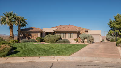 St George Single Family Home For Sale: 578 W 2140 Cir S